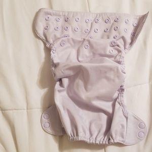 Flip diaper cover